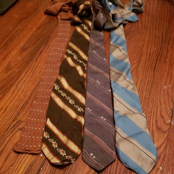 Variety Other - Four Vintage Ties